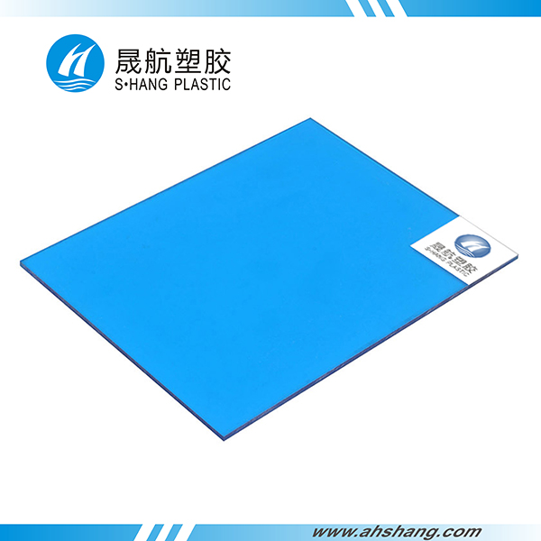 Flat PC solid sheet - 04 - Lake blue
